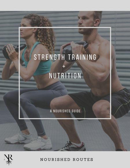 Strength Training + Nutrition Guide