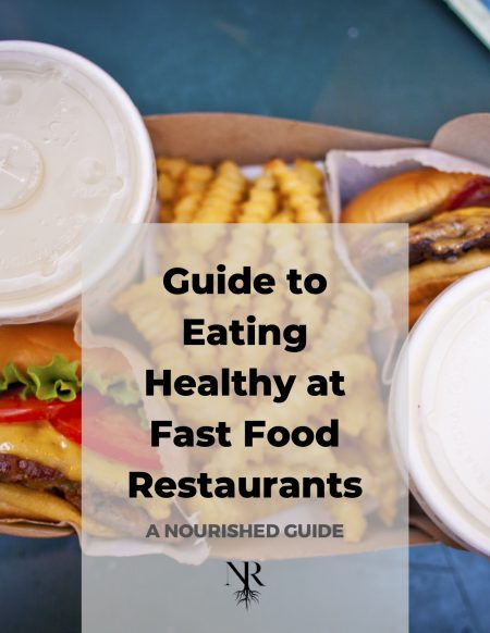 Guide to Eating Healthy at Fast Food Restaurants copy